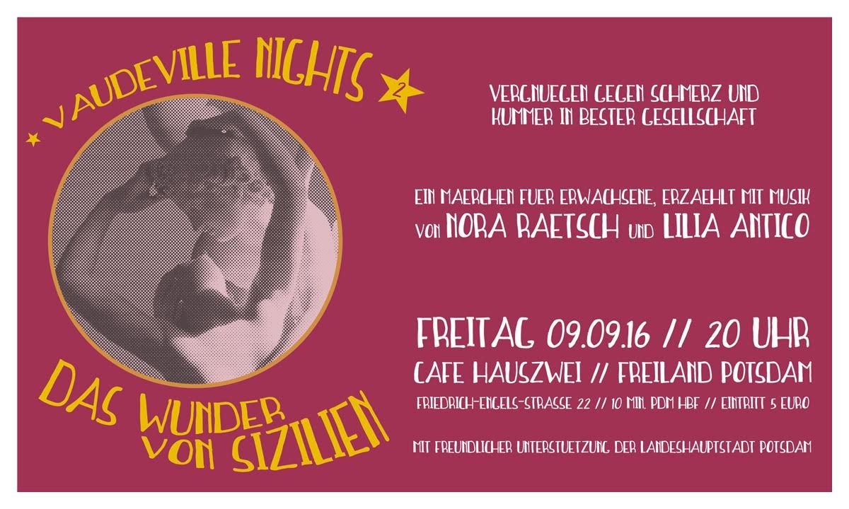 Vaudeville Nights!