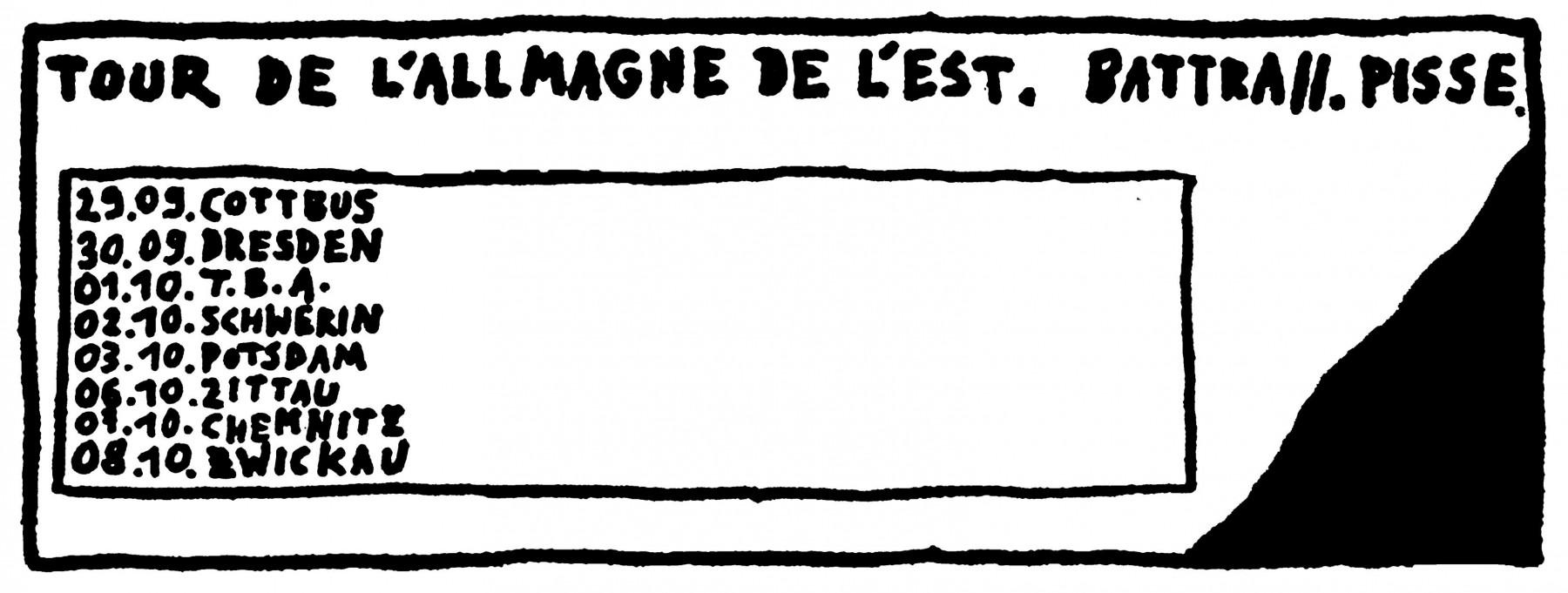 Battra. Pisse. - TOUR DE L'ALLMANGE DE L'EST