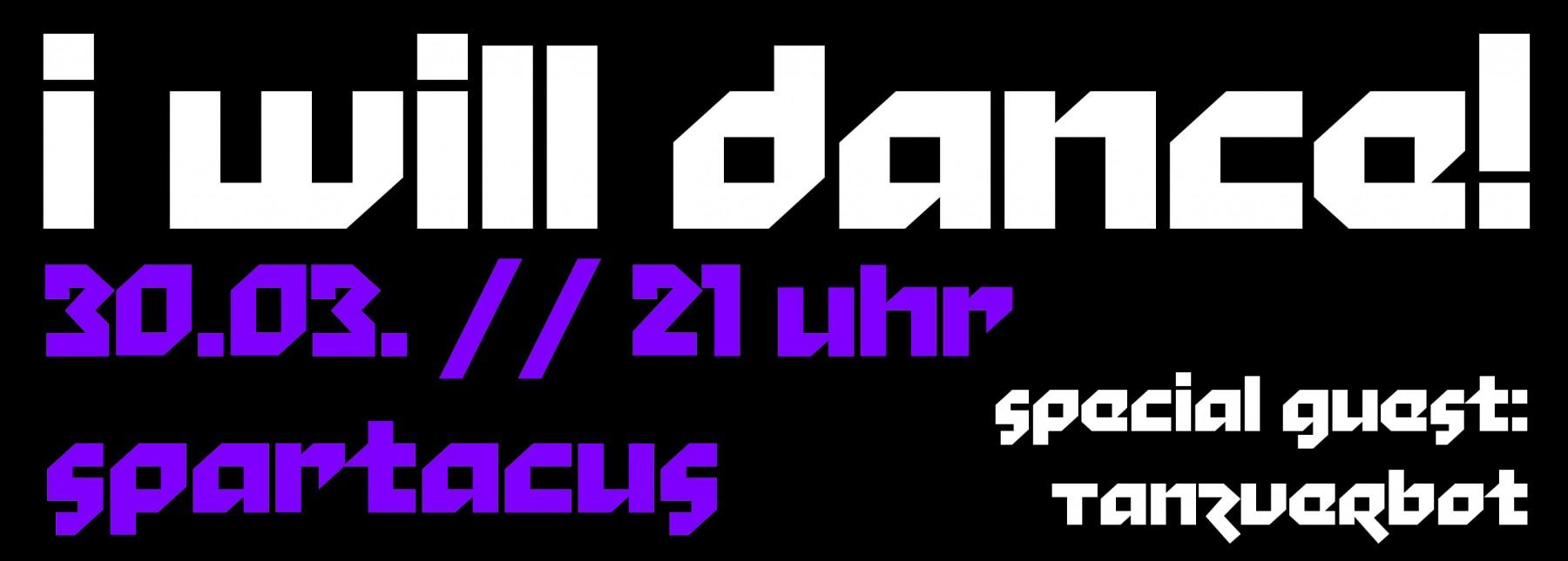 I will dance! - Kneipenabend mit Tanzmusik