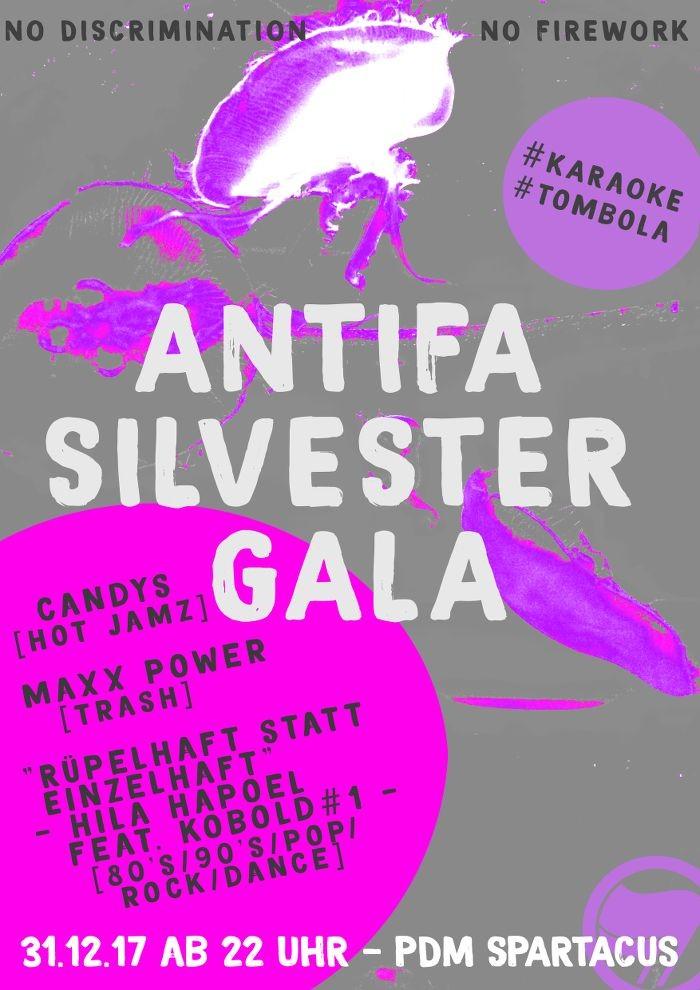 Antifa Silvester Gala